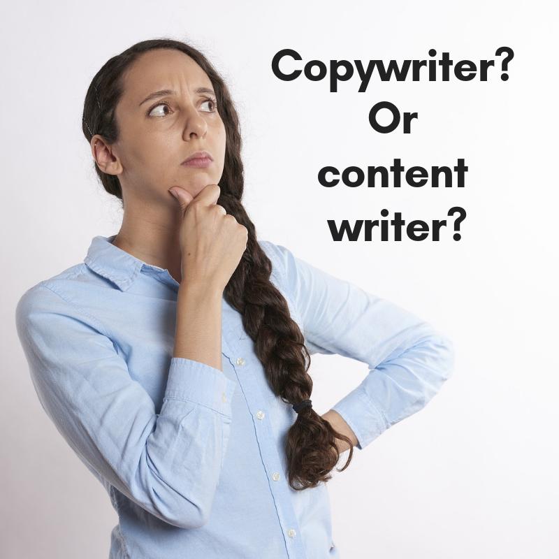 Copywriter or content writer_